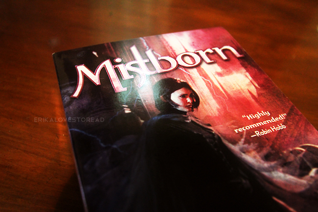 Mistborn: The Final Empire by Brandon Sanderson (Mistborn #1)