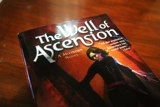 Mistborn: The Well of Ascension by Brandon Sanderson (Mistborn #2)